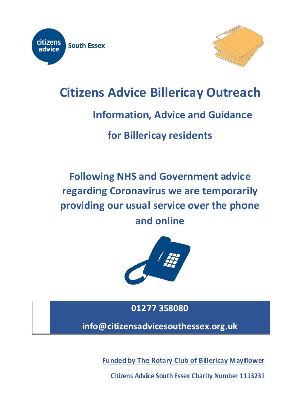 Citizens Advice Outreach Service