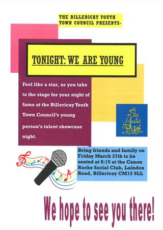 Tonight We Are Young Poster